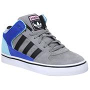 Adidas Culver Mid Grey Rock/Black/Blue Zest