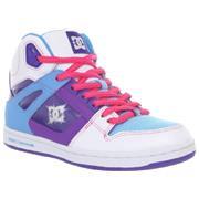 DC Rebound Hi White/Purple