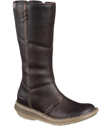 Dr Martens 3A63 Authentic Wedge Zip Calf Boot