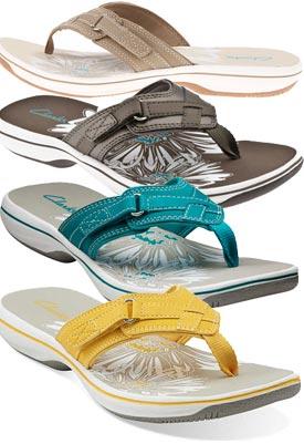 clarks sea breeze flip flops uk