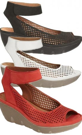 example color combinations Clarks Clarene Prima ...