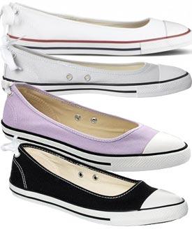 scarpe ballerine converse