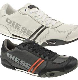 diesel do some half decent trainers, sort of sporty yet casual I guess.