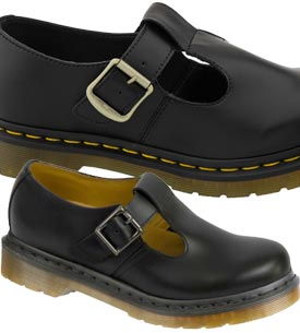 dr martens polley compare prices womens dr martens shoes flats. Black Bedroom Furniture Sets. Home Design Ideas