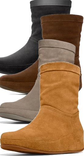 example colour combinations FitFlop Zip Up Crush ...
