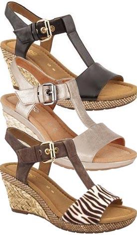 Gabor Sandals - beige K45mb