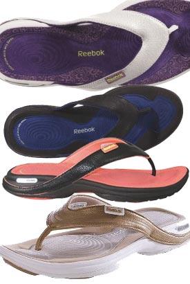 reebok easytone flip flops