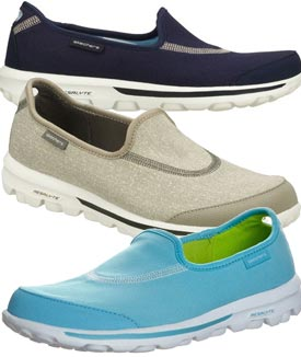 compare skechers go walk