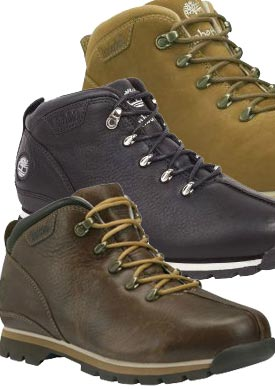 example colour combinations Timberland Splitrock Timberland Splitrock