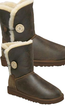 ugg boots bailey button bomber chestnut