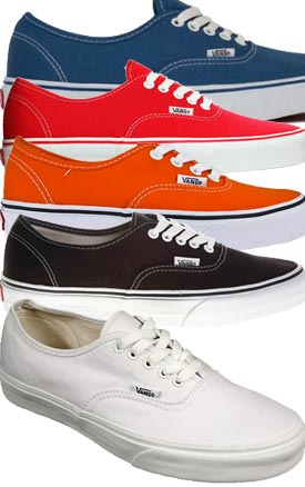 VANS Authentic Compare Prices Unisex Sneakers Skate