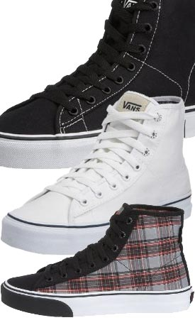 example colour combinations VANS Ferris Hi