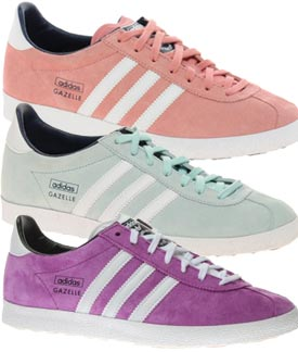 ladies adidas gazelle trainers