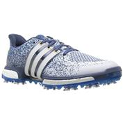 Adidas Tour360 Boost Prime Boost (White/Shock Blue/Mineral Blue)