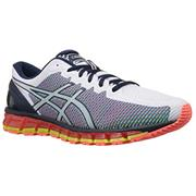 Asics Gel Quantum 360 360 2 (White/Dark Navy/Safety Yellow)