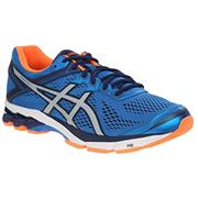 Asics GT 1000 GT-1000 4 (Electric Blue/Silver/Flash Orange)