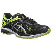 Asics GT 1000 GT-1000 4 (Black/Silver/Flash Yellow)