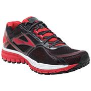 Brooks Ghost Ghost 8 (Black/High Risk Red/Silver)