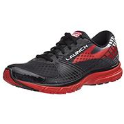 Brooks Launch 3 Black/High Risk Red