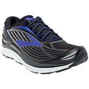 Brooks Transcend (4) Black/Electric Blue/Silver