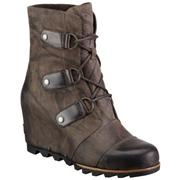 Sorel Joan of Arctic Wedge Mid Grill/Black