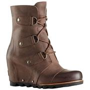 Sorel Joan of Arctic Wedge Mid Tobacco