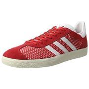 Adidas Gazelle II Primeknit - Scarlet/White/Gold Metallic