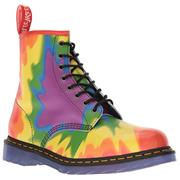 Dr Martens 1460 Boots Pride Tie-Dye Print