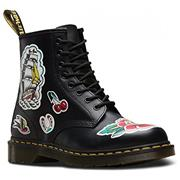 Dr Martens 1460 Boots Chris Lambert Backhand Tattoo