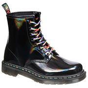 Dr Martens 1460 Boots Black - Rainbow