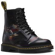 Dr Martens 1460 Boots Rick Griffin Eye Collab