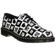 Dr Martens 1461 Shoes Egret Playing Card Print
