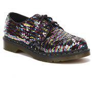 Dr Martens 1461 Shoes Sequin - Multi/Silver