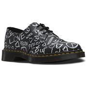 Dr Martens 1461 Shoes Script Backhand