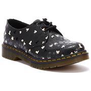 Dr Martens 1461 Shoes Backhand Hearts