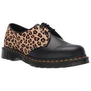 Dr Martens 1461 Shoes Black Medium Leopard