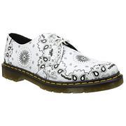 Dr Martens 1461 Shoes White Bandana