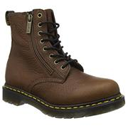 Dr Martens Pascal Zip - Dark Brown Grizzly
