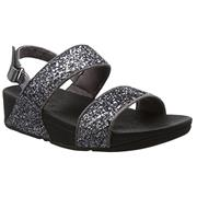 FitFlop Glitterball Back Strap - Pewter
