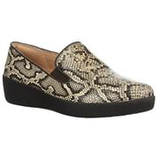 FitFlop Superskate Taupe Snake