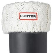 Hunter Cable Cuff Welly Socks