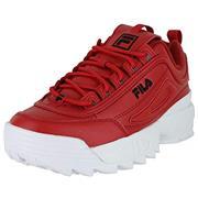Kids Fila Disruptor II Red/Navy/White