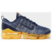 Kids Nike Air VaporMax Navy/Yellow