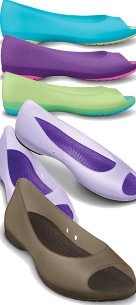 5fca4446843fbe example colour combinations Crocs Carlie Flat ...