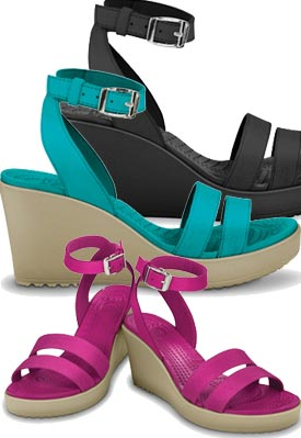 Crocs Leigh Wedge Compare Prices Womens Crocs Sandals