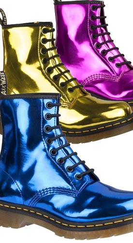 b79600f12a2b example colour combinations Dr Martens 1460 Metallic Boot ...