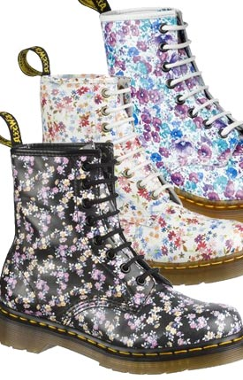 Dr Martens Floral 1460 Boot Compare Prices
