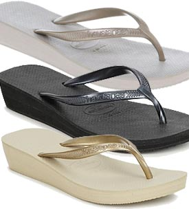 buying cheap first rate best service Havaianas Highlight Wedge | Buy Now £21.85 | All 3 Colours