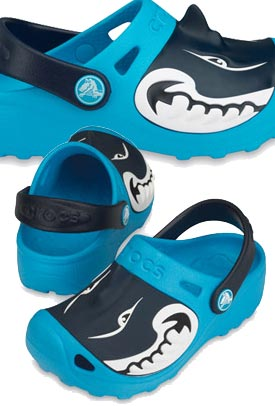 Kids Crocs Shark Compare Prices Kids Crocs Shoes