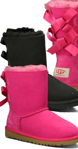 example color combinations Kids UGG Bailey Bow ...